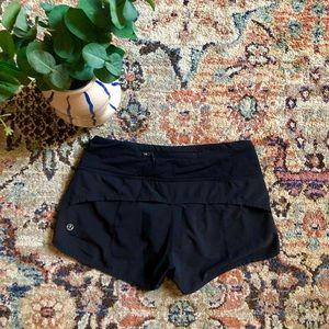 Lululemon athletica black shorts size 0